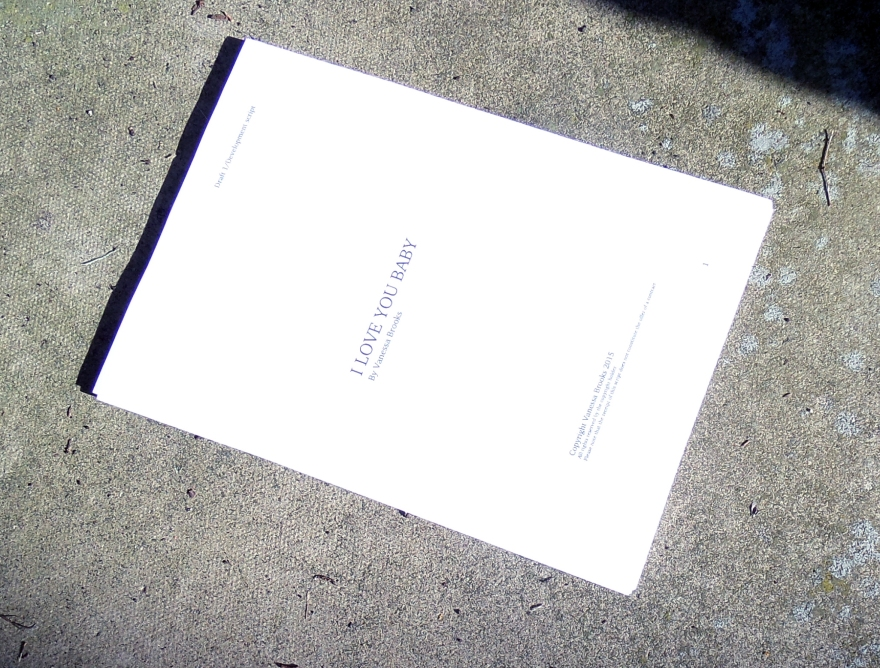 Playscript gets used to being outside