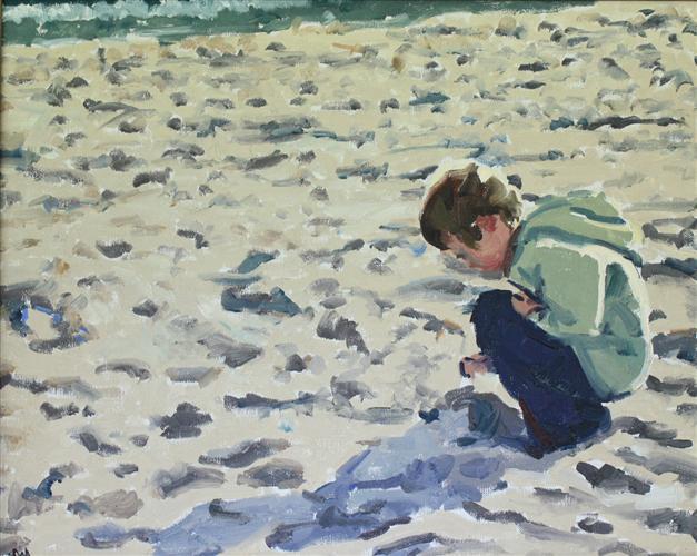 Sandcastle by Sarah Sisun